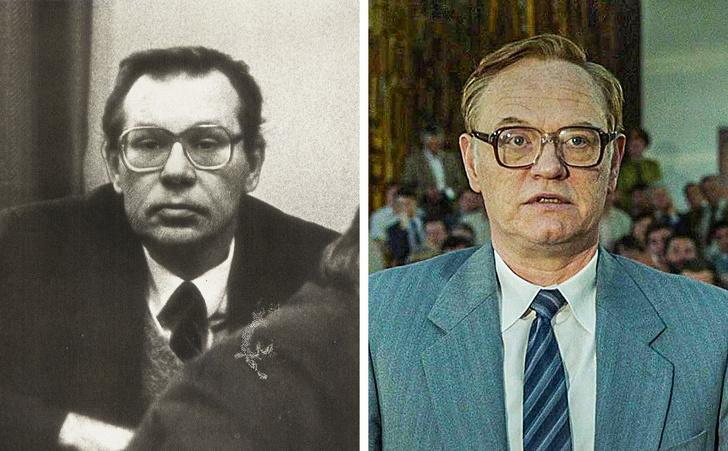 Így néztek ki a Csernobil című sorozat szereplői a valóságban