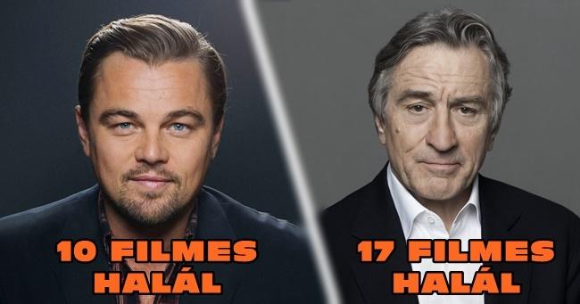 10 filmsztár, aki folyton meghal a filmekben