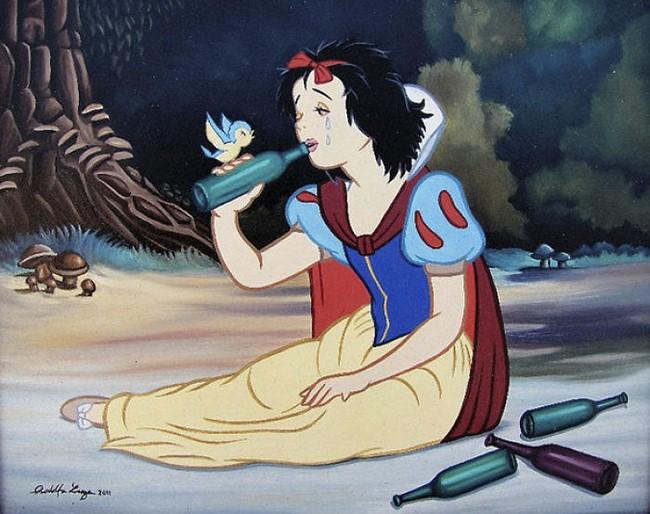 20 illusztráció, ami bemutatja, hogyan élnének a Disney szereplői a modern világunkbanv