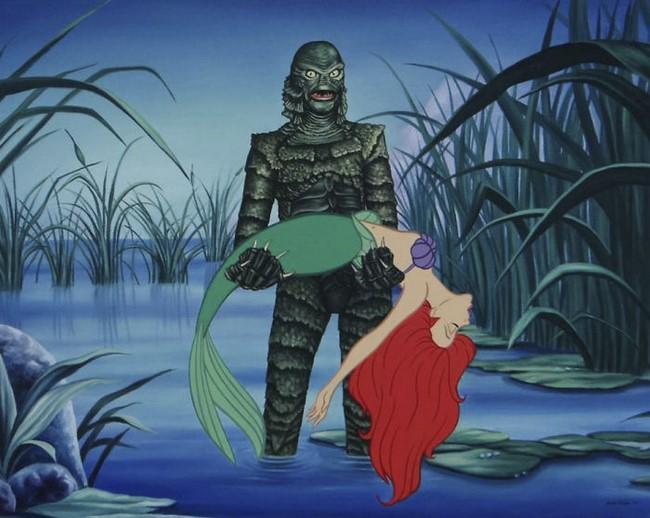 20 illusztráció, ami bemutatja, hogyan élnének a Disney szereplői a modern világunkban