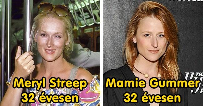 8 anya-lánya sztárpáros, akik hasonló életkorban ugyanúgy néztek ki