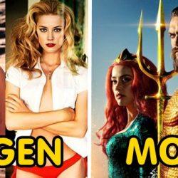 Az Aquaman szereplői régen és most