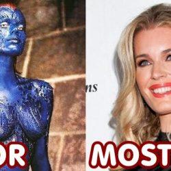 Az X-MEN filmek szereplői régen és most