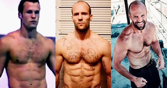 Jason Statham így változott meg az évtizedek során
