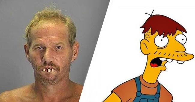 8 Simpson család szereplő, akit mintha létező személyről mintáztak volna