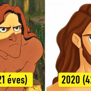 Így néznének ki kedvenc Disney karaktereink napjainkban, ha velünk együtt öregedtek volna
