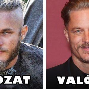 A Vikingek sztárjai így néznek ki a valóságban