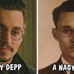 11 híresség, aki annyira hasonlít egy múltbéli személyre, hogy nem hiszünk a szemünknek