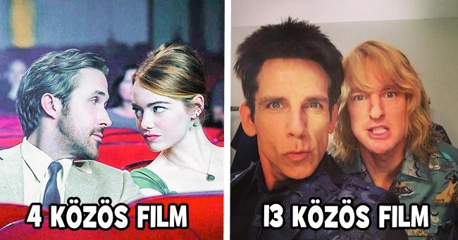 15 zseniális filmes duó, akik több filmben is közösen szerepelnek